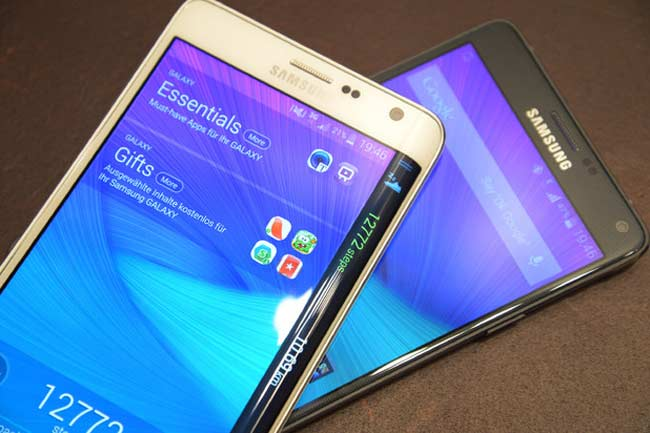Galaxy Note 4 and Galaxy Note Edge
