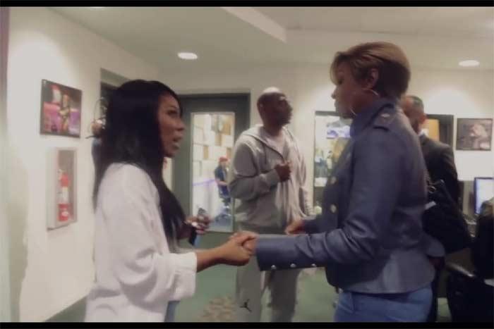 K Michelle meets Mary J Blige