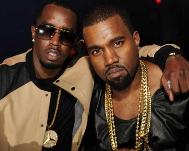 Kanye West and Diddy