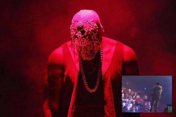 Kanye West Sydney Australia concert wheelchair