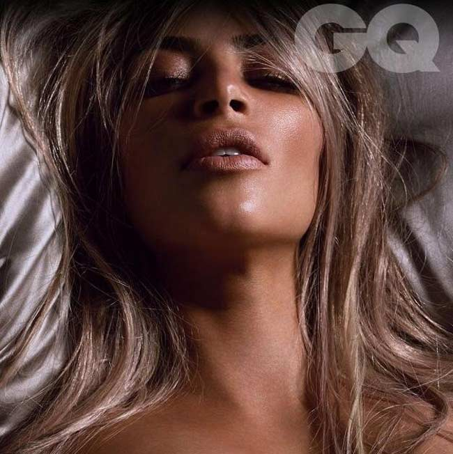 Kim Kardashian British GQ magazine October issue