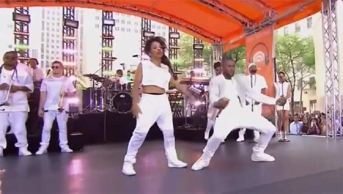 Ladia Yates Usher Today Show