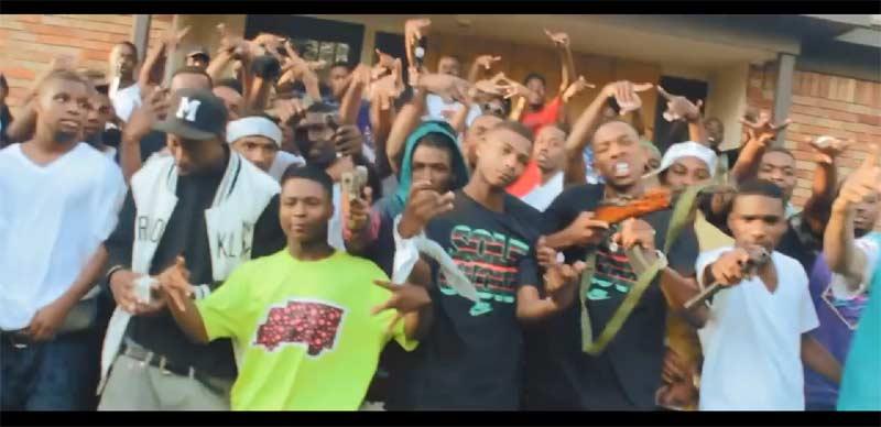 Memphis teens with guns Fam Mob