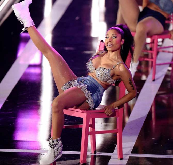 NIcki Minaj butt implants performance