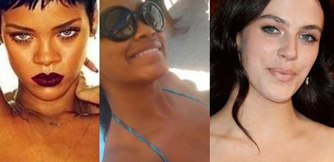 Rihanna, Keke Palmer, Jessica Brown Findlay photos leaked