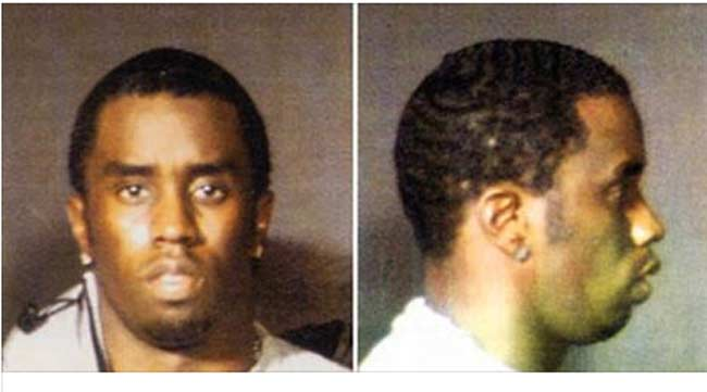 Sean Combs mugshot