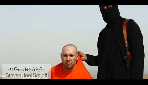 Steven J Sotloff beheaded ISIS