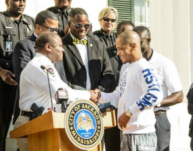 TI given City of Jackson Mississippi key
