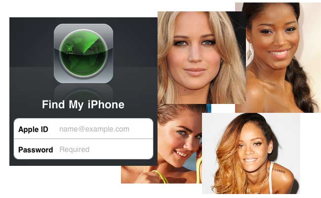 Find My iPhone - Celebrity Photo Scandal