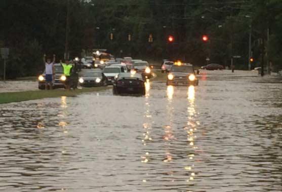 Flash Flood Memphis Storm September 2014