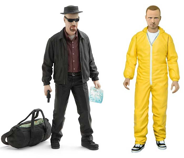 Breaking Bad action figures hazmat meth