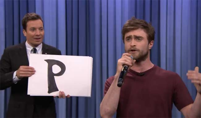 Daniel Radcliffe on Jimmy Fallon show