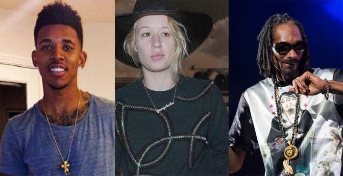 Nick Young, Iggy, Snoop Dogg