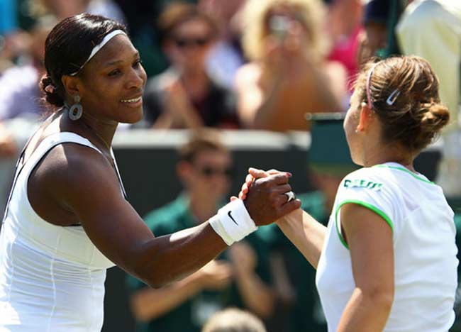 Serena William lost to Simona Halep