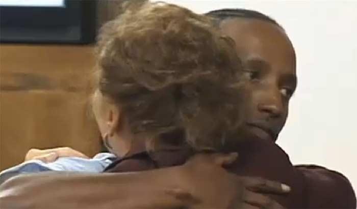 Tyteaddis Johnson inmate saves woman