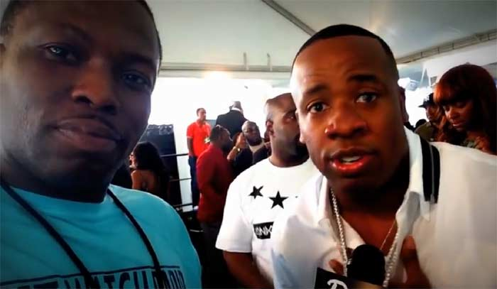 Yo Gotti green carpet BET HH Awards