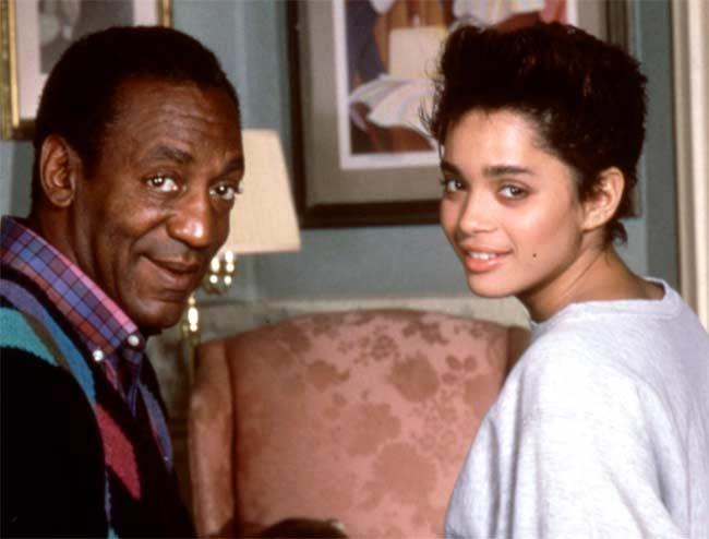 Bill Cosby and Lisa Bonet