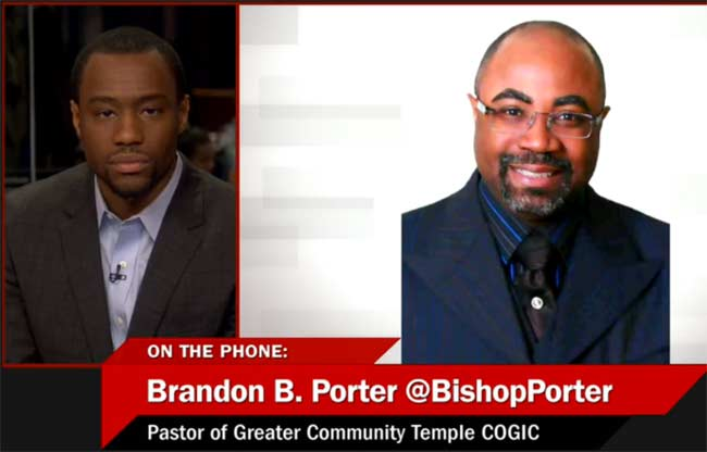 Bishop Brandon Porter Marc Lamont Hill