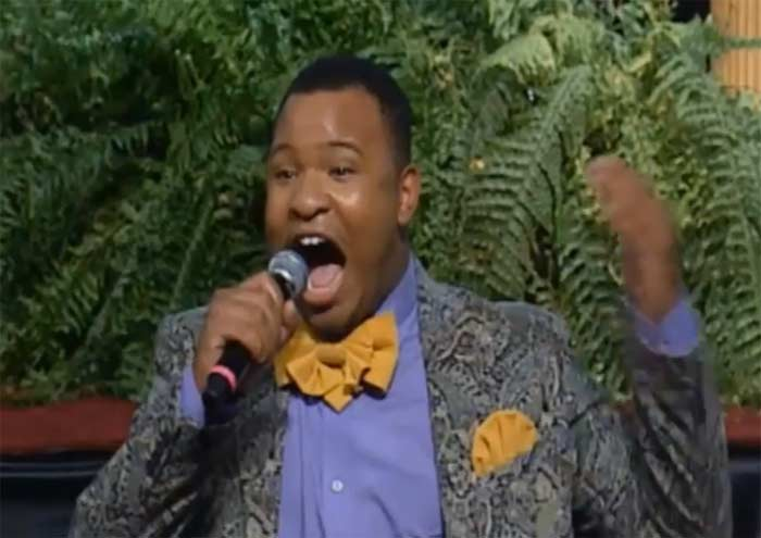 COGIC convention man says Im not gay no more