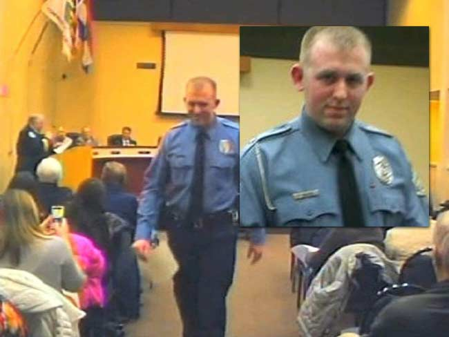 Darren Wilson police officer Ferguson