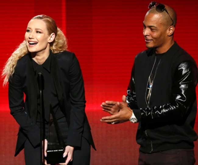 Iggy Azalea and TI American Music Awards