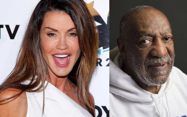 Janice Dickinson and Bill Cosby