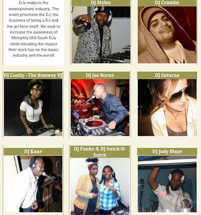 Memphis Midsouth DJ Honors