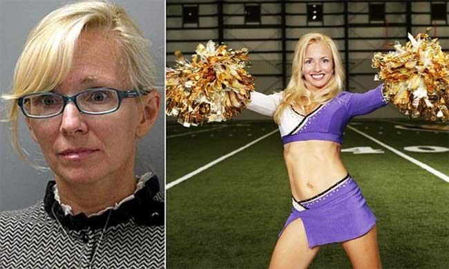 Molly Shattuck Baltimore Ravens oldest cheerleader