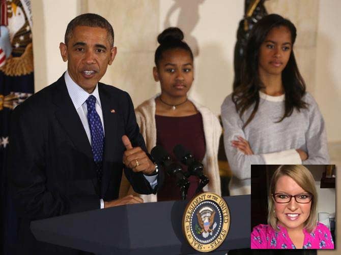 Elizabeth Lauten calls Obama girls classless