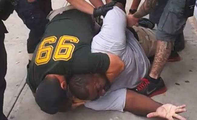 Eric Garner chokehold by NYPD officer