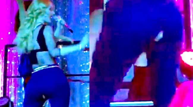 Iggy Azalea Splits Pants At Bar Mitzvah