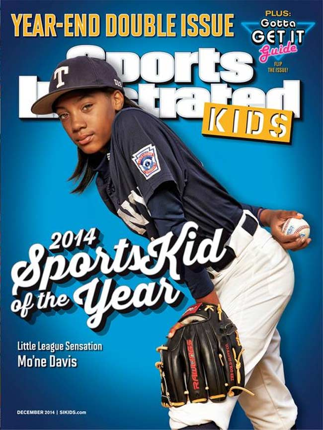 Mo'ne Davis Sports Illustrated Kid of The Year