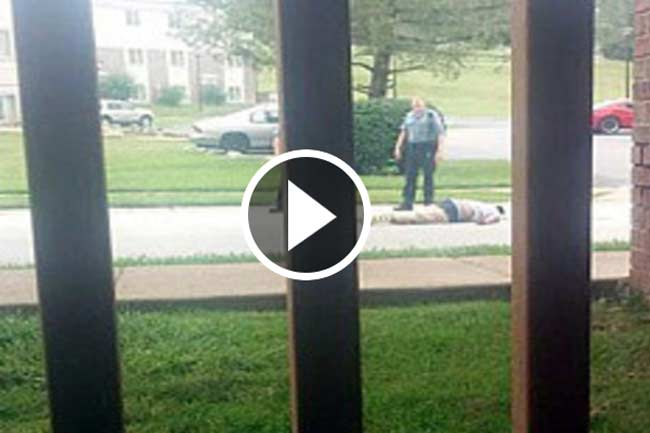 teen films Michael Brown shooting story hoax