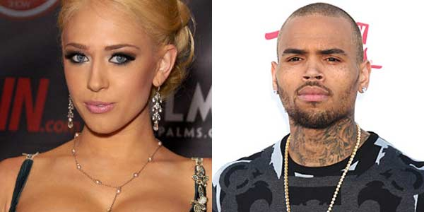 Chris Brown and Kagney Linn Karter