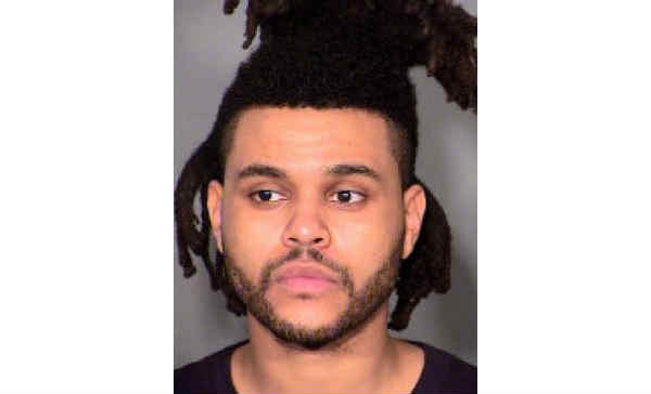 The Weeknd mugshot