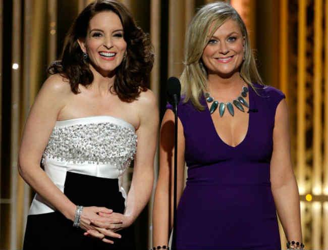 Tina Fey and Amy Poehler Golden Globe Awards