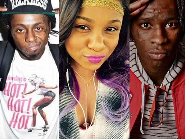 Lil Wayne, Reginae, Young Thug